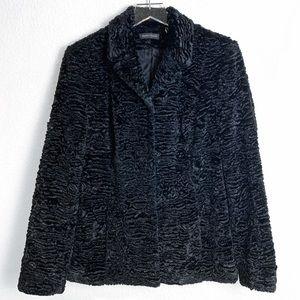 Valerie Stevens Vintage Style Faux Fur Coat